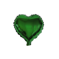 "Heart Shape Balloon (10"" Green)"