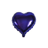 "Heart Shape Balloon (10"" Purple)"