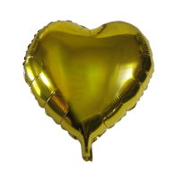 "Heart Shape Balloon (17"" Gold)"