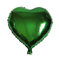 "Heart Shape Balloon (17"" Green)"
