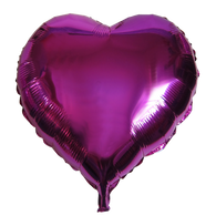 "Heart Shape Balloon (23"" Fuchsia)"