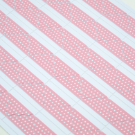 Photo Corner with Scallop Edge in Polka Dot Pink 78pcs