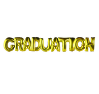 Alphabet Balloons Set (Graduation)