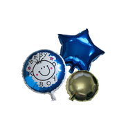 Baby Shower Boy Balloons 3 Pieces Set