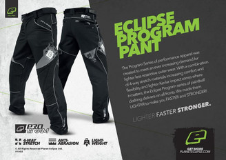Eclipse Program Pants Black Xtra Large