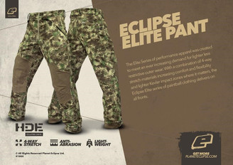 Planet Eclipse Elite Pants HDE Camo LARGE
