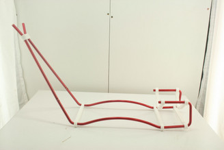 Wire Gun Stand - Red