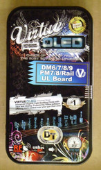 Virtue OLED DM6/7/8/9 PM7/8/Rail UL Board