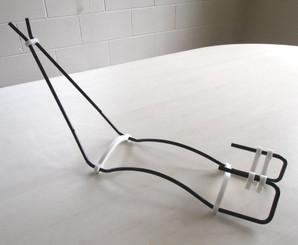 Wire Gun Stand - Black