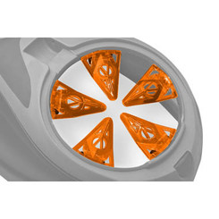 Virtue Crown SF Rotor - Orange