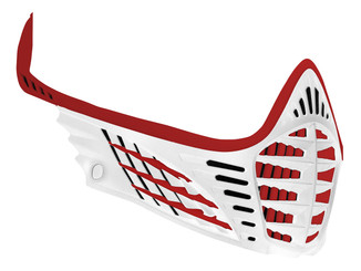 VIO Face Mask - Red/Red/White