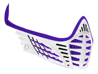 VIO Face Mask - Purple/Purple/White