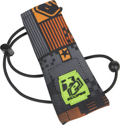 Eclipse Barrel Sock Pixel Orange
