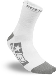 Eclipse Tilt Full Socks White