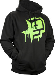 Eclipse Mens Rec hoody Black/Green L
