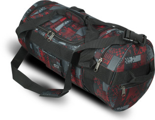 Eclipse Holdall Pixel red