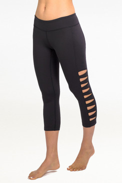 """My all time favorite piece from KG is the Warrior Tough Cut Legging. They are super sexy, perfectly edgy, and so comfortable. I get compliments every time wear them."" - Marni Sclaroff"