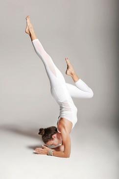 Romance Mesh Ballet Legging (White)