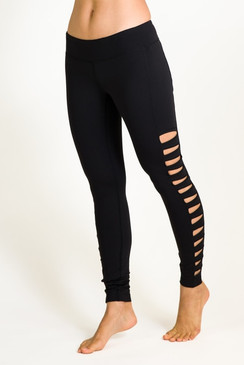 Warrior Tough Cut Yoga Tight (Black)