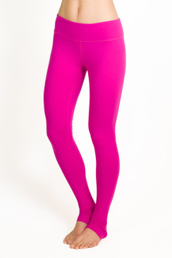The Grace Yoga Tight in Fuchsia