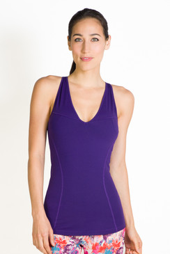The Grace Deep V-Neck in Imperial