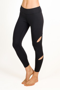 """My favorite piece of clothing is the Seva legging! I love them! Quality fabric that holds up wash after wash. I'm sold!"" - Lisa Laird"