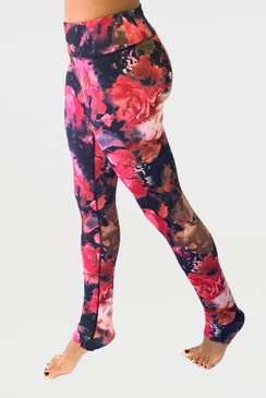 Grace Yoga Tight (Enchanted Floral)