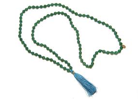 Asha Patel's Green Onyx Mala