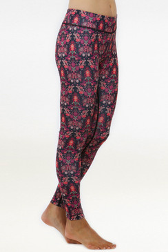 Grace Yoga Tight (Fleur De Lys)