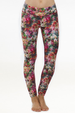 Grace Yoga Tight (Baroque Rose)