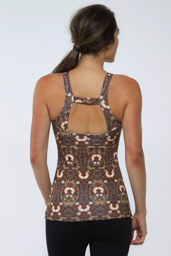 Grace Baroque Halter (Gold Brocade)