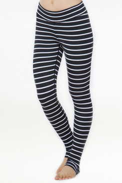 Grace Yoga Tight (Stripe)
