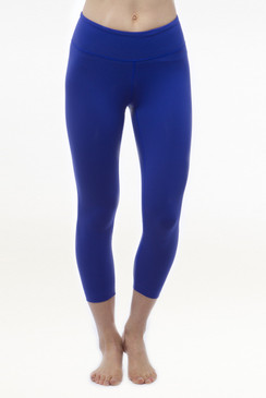 Blue Grace Yoga Capris Leggings