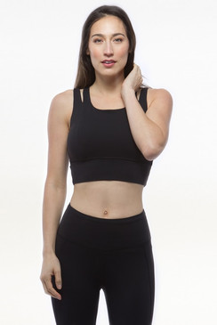 Grace Crop Top (Black)