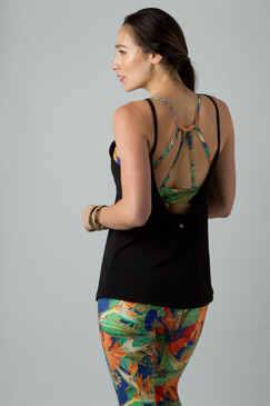 Warrior Strappy Yoga Outfit Tank Tops