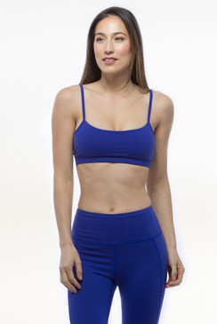 Blue Grace Yoga Bra Tops