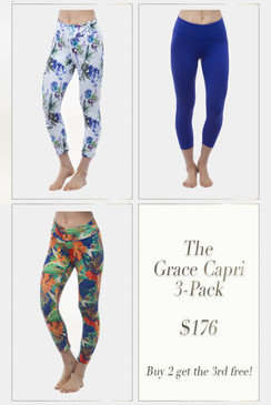 The Grace Capri 3-Pack