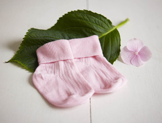 Baby Girl Rosebud Socks