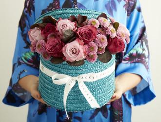 Maritim Rose,Blueberry Rose Purple Santini & Cottinus.