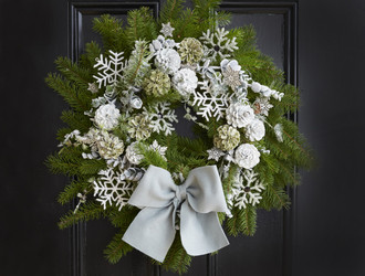 Snowflake's Shelter Half Day Wreath Class