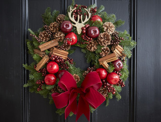 Robin's Lodge Half Day Wreath Class
