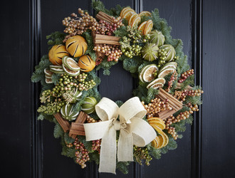 Citrus Retreat Half Day Wreath Class