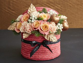 Festive Hatbox Workshop - Coral