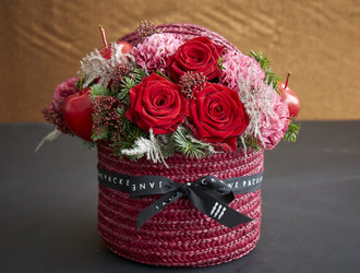 Festive Hatbox Workshop - Rouge