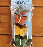 Fertilizer Art Butterflies