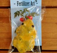 Fertilizer Art Frogs