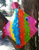 Fish Swim Pinata **FREE SHIPPING**
