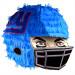 NY Football Helmet Pinata