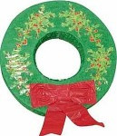 Christmas Wreath Pinatas