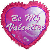 Be My Valentine Heart Pinata